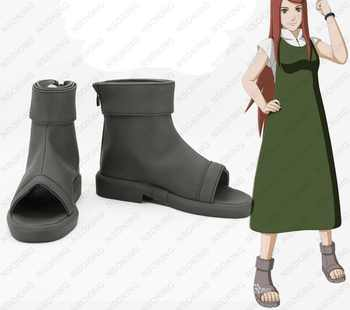 New Naruto Uzumaki Kushina Cosplay Boots masashi kishimoto Anime Shoes Custom Made - DISCOUNT ITEM  18% OFF All Category