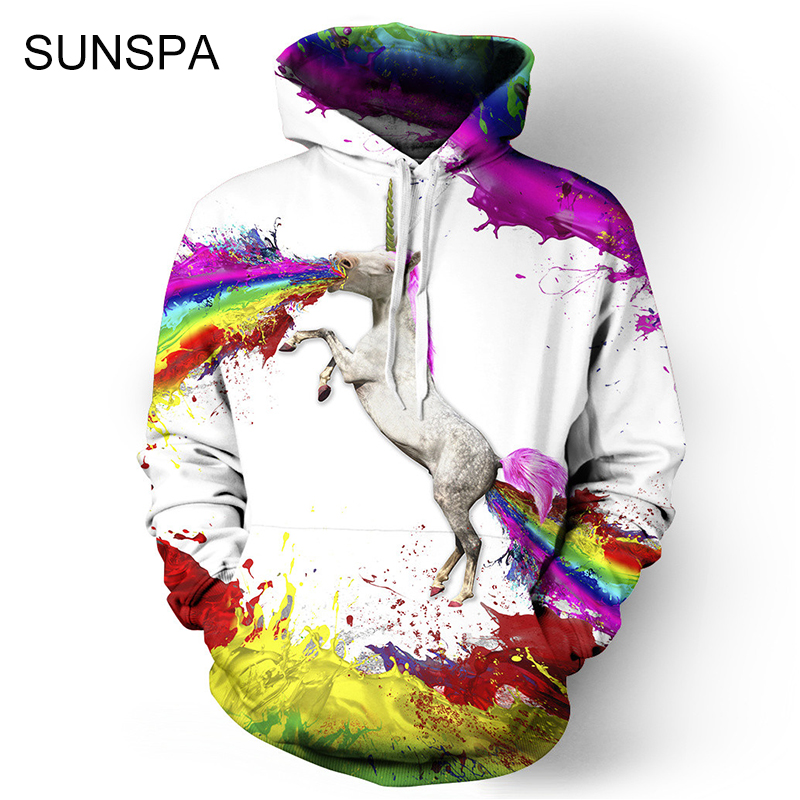 SUNSPA 2017 New Series Space Galaxy Sweatshirt Hoodies 3D Print Hip Hop Coats Casual Sweat Shirt Men Women Hooded Tops Plus Size