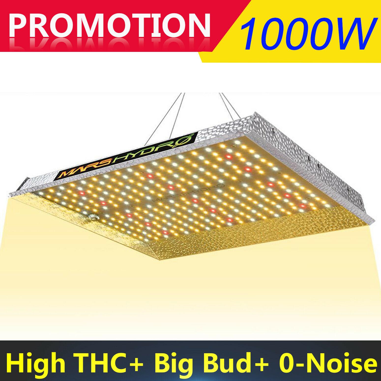 TS 1000W MarsHydro cresce a luz led Full spectrum indoor sistema hidropônico levou crescer luz planta Crescer tenda e Crescer luzes Do Painel
