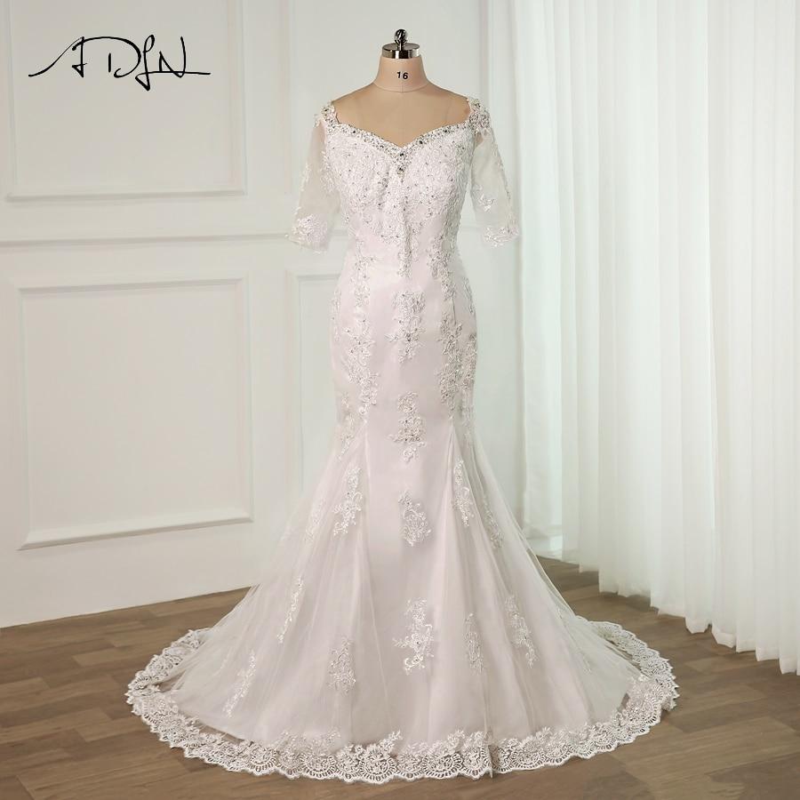 Buy Used Wedding Gowns: Aliexpress.com : Buy ADLN Custom Plus Size Wedding Dresses