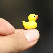 Resin Micro Landscape Decoration Small Duck Statue&Sculpture Cake Decoration Small Animal Ornaments Home Decoration Accessories(China)