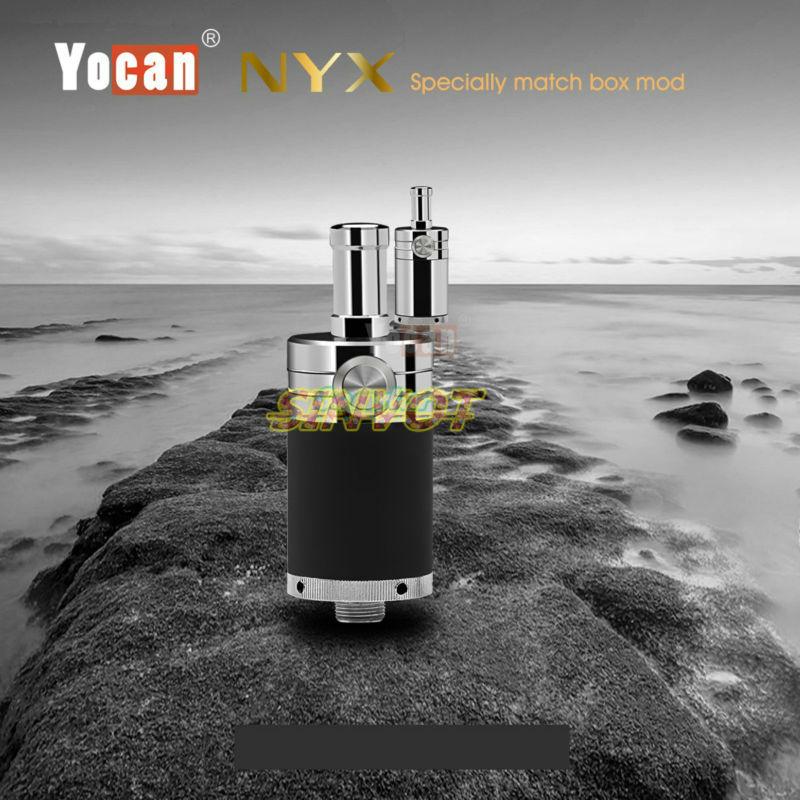 5pcs lot Original Electronic cigarette Yocan NYX atomizer Wax atomizer airfolw button control 510 vaportank free