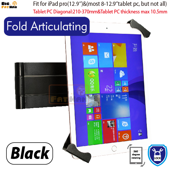 Fold Articulating Security Wall Mount for 8-12.9''tablets retractable holder brace specialized Anti-Theft wall mount stand велосипед specialized demo 8 ii 2013