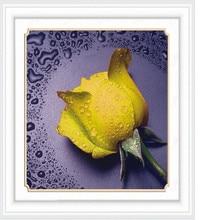 yello rose flowers 3D DIY Diamond Embroidery 5D Diamond painting Diamonds mosaic cross stitch Animal,needlework Christmas decor