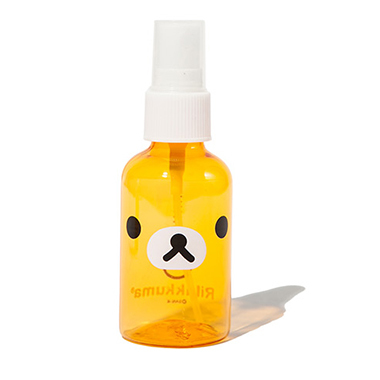 50ml. kawaii dell'orso del fumetto di plastica portatile flacone spray vuoto