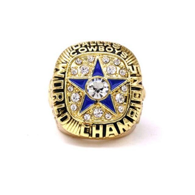 1971 NFL Super Bowl American Football Championship Ring Dallas Cowboys Championship Ring