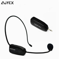 Brand of 2.4g wireless microphone for teaching guides conference style special microphone mic computer 3.5MM&2in Free Shipping