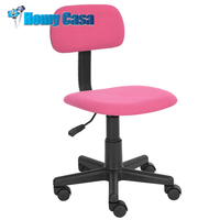 HOMY CASA HOME Office chair Fashion Household Secretary adjustable height mesh Pink Office chair