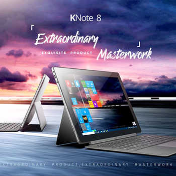 ALLDOCUBE KNote8 2 In 1 Tablet PC 13.3 Inch 2K Screen Windows 10 Intel Kabylake 7Y30 Dual Core 8GB 256GB Type C Tablets - DISCOUNT ITEM  0% OFF All Category