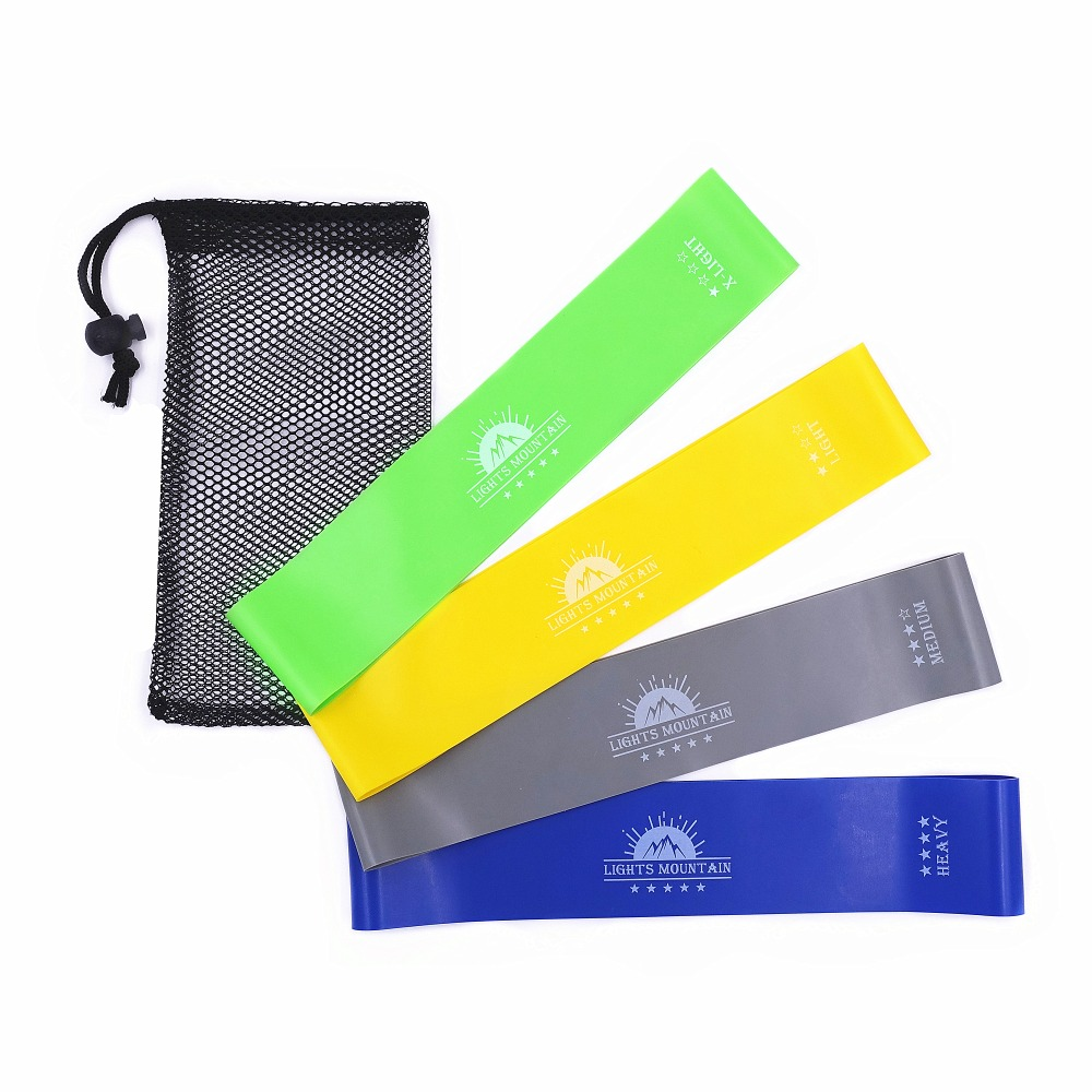 Resistance Loop Bands Set Elastic Booty Band For Fitness Legs Strength Training Latex Rubber Bands Crossfit Workout Equipment