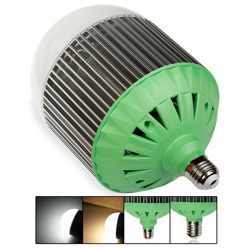 AC220V E40 couleur blanche en Aluminium diode LED ampoules 70 W haute luminosité économie d'énergie LED bulle boule ampoule LED lampe de projecteur
