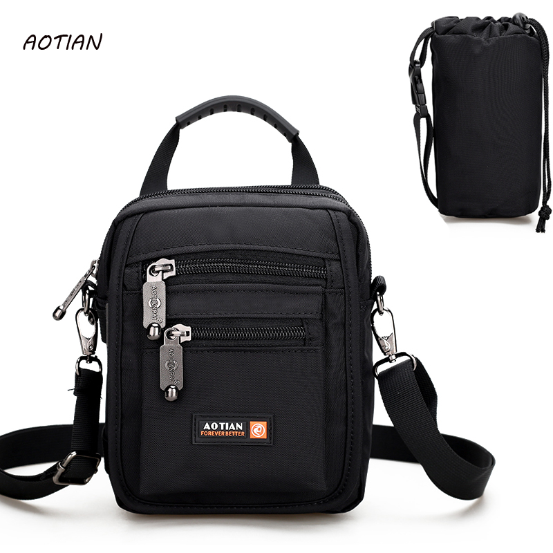 New Arrival Fashion Business nylon Men Messenger Bags Promotional Small Crossbody Shoulder Bag Man Multifunction travel bags yeso small crossbody business nylon bag men outdoor sport travel waterproof messenger bag casual fashion small shoulder bag man