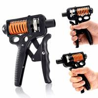 Adjustable Heavy Grips Hand Gripper Gym Power Fitness Hand Exerciser Wrist Forearm Strength Training