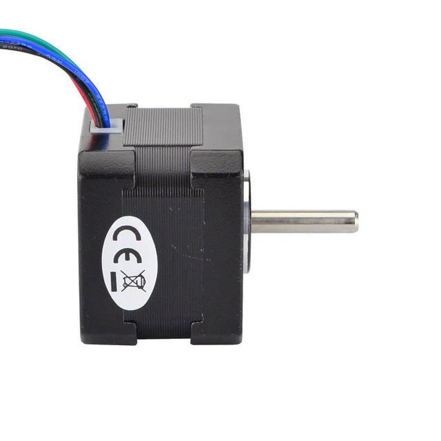 Nema 17 Stepper Motor 33mm 22Ncm(31oz.in) 1.33A 4-lead Nema17 Step Motor 2.8V for DIY CNC 3D Printer