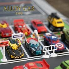 Construction Vehicle Car-Model-Toy-Set Diecast Metal-Cars 1:64-Engineering Venom
