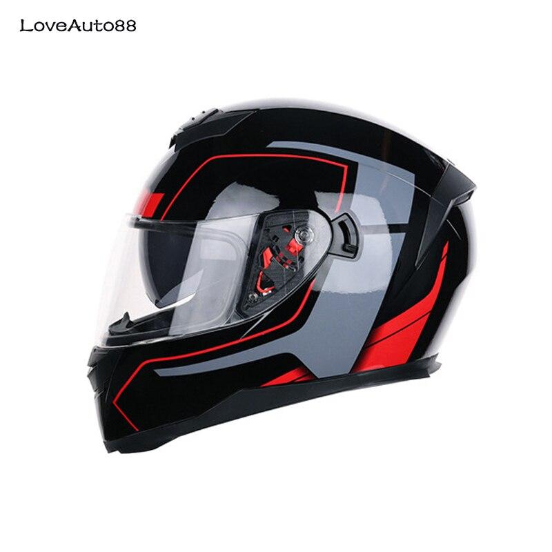 Image 3 - Motorcycle Helmet Full Face ABS Motorbike Helmet downhill racing mountain Safe Racing helmet Motorcycle Helmet For Woman/Man-in Helmets from Automobiles & Motorcycles