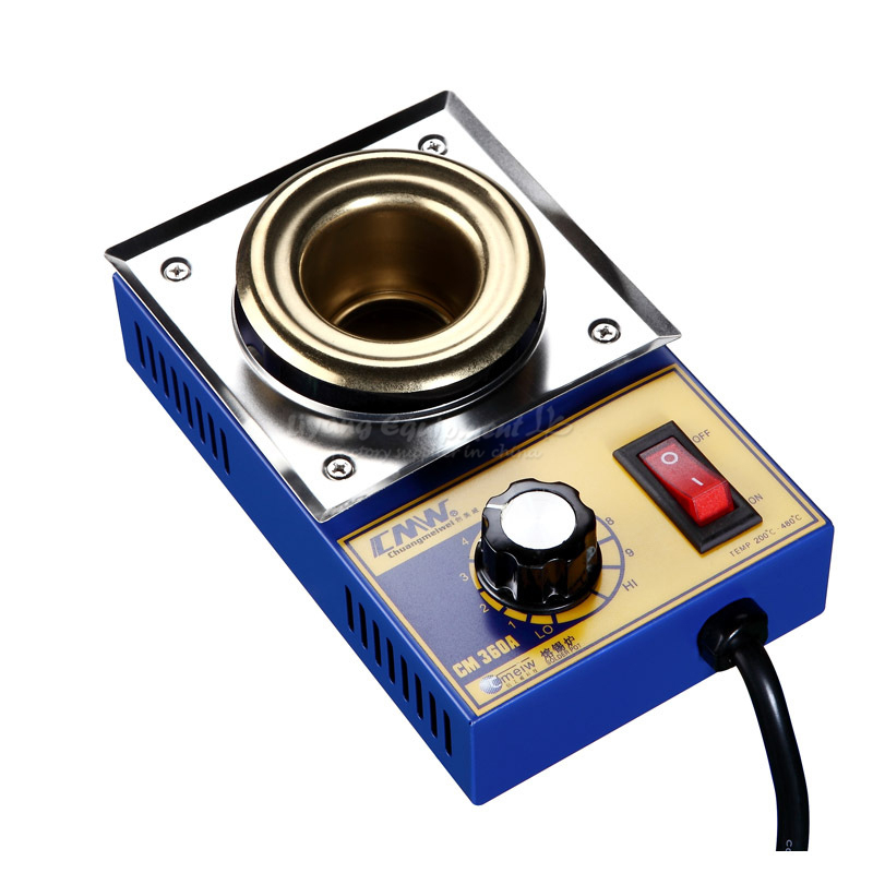 Melting tin furnace no lead small pot soldering furnace stepless adjustable temperature small tin stove