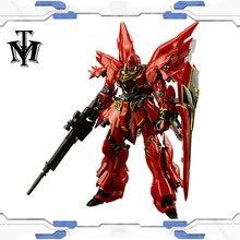 Bandai véritable RG 1/144 Anime HG MSN-06S Sinanju Gundam modèle assemblé Robot figurine gunpla enfants chauds jouets cadeau de noël