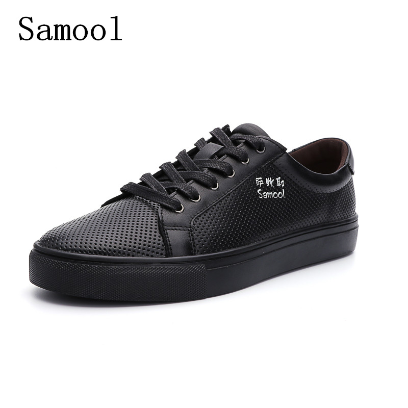 High Quality Genuine Leather New Fashion Summer Men Casual Shoes Breathable Moccasins Men Shoes 2017 Outdoor