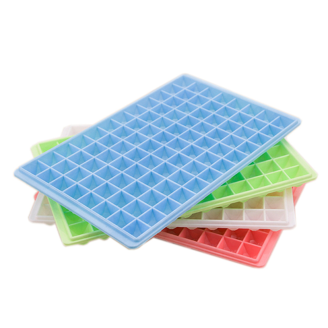 60 / 96 Cell Plastic Square Shape Ice Cream Cube Freeze Mold Chocolate Maker Tray DIY Party Event Home Supplies New Arrival