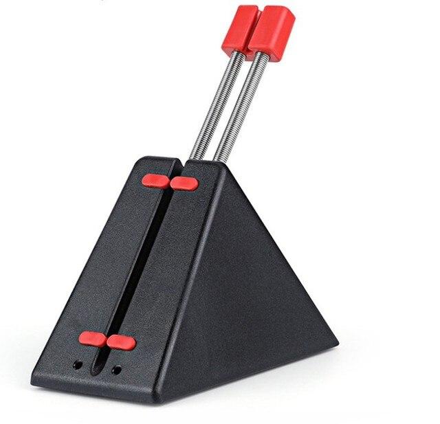 Support de cordon de souris organisateur de câble métallique souris de jeu Flexible fixateur de ligne de tondeuse finale pour souris filaire Gamer