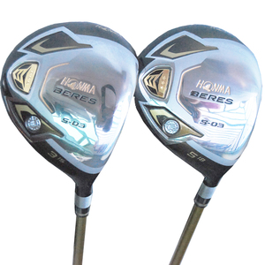 Cooyute New mens Golf clubs HONMA S-03 3/5 Golf fairway wood with Graphite Golf shaft wood clubs free shipping