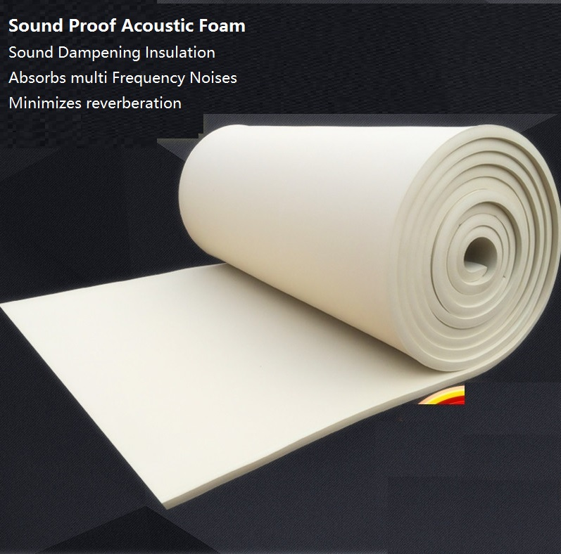 acoustic foam panels with self adhensive backing consistent density firmness