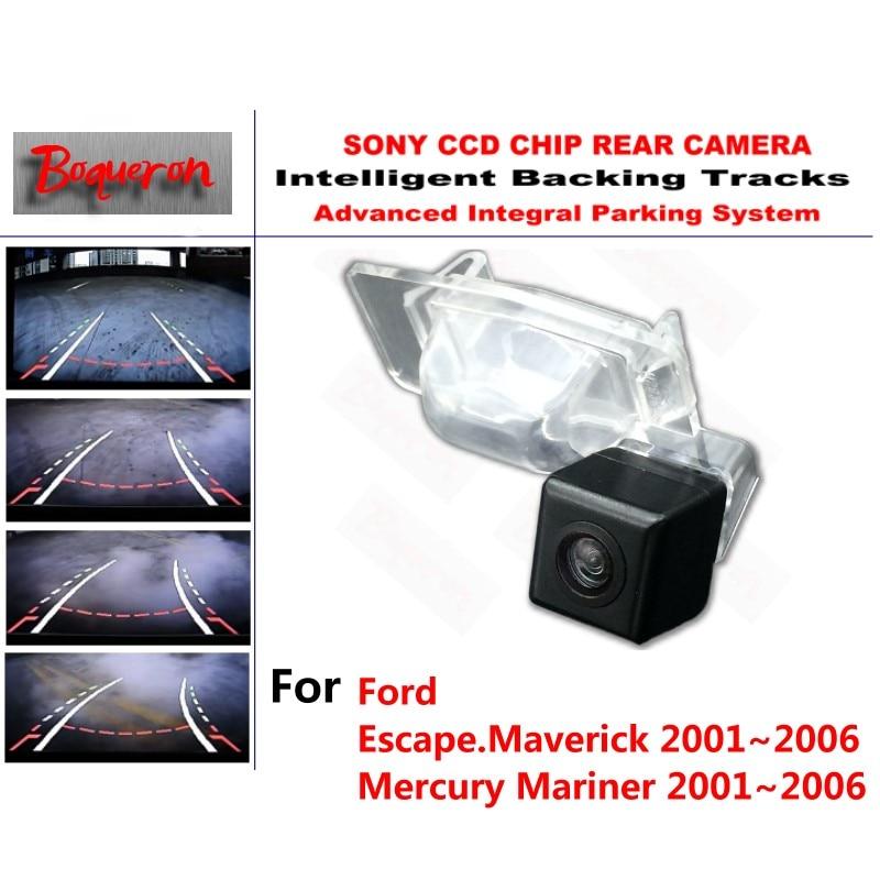 for Ford Escape Maverick Mariner 2001 2006 CCD Car Backup Parking Camera Intelligent Tracks Dynamic Guidance
