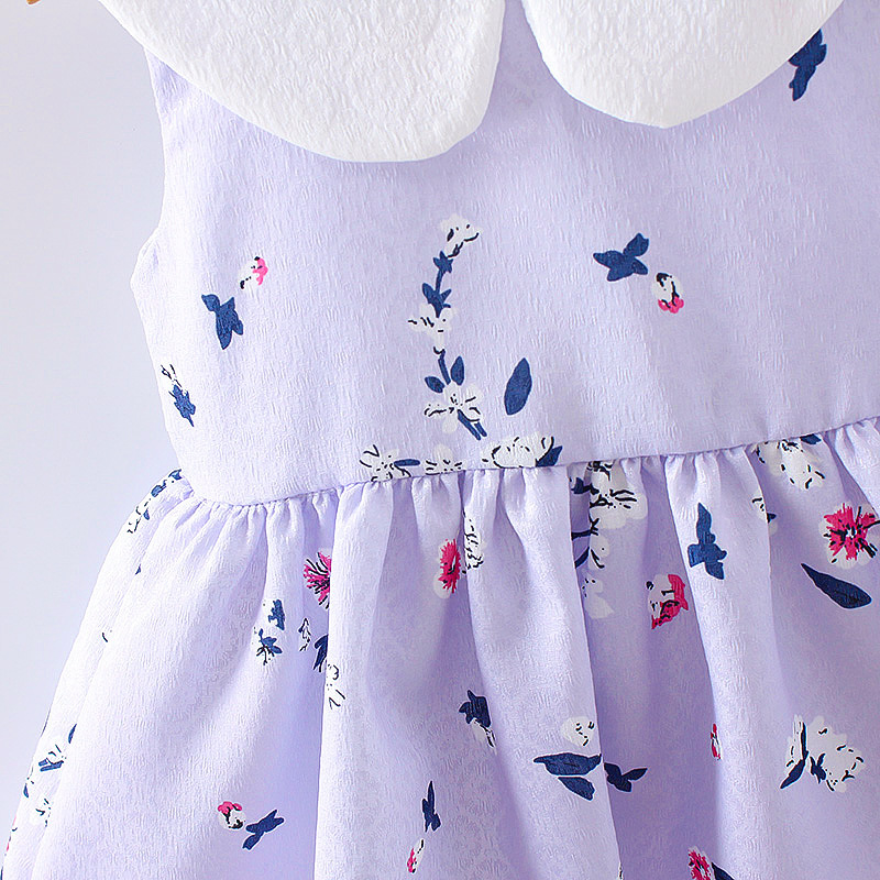 HTB1qd.rQFXXXXa7XVXXq6xXFXXX2 - LCJMMO 2017 Baby Girl Dress Summer Floral Princess Party Cute Cotton Baby Girls Clothing Kids Lolita bow-knot Dresses For 6-24M