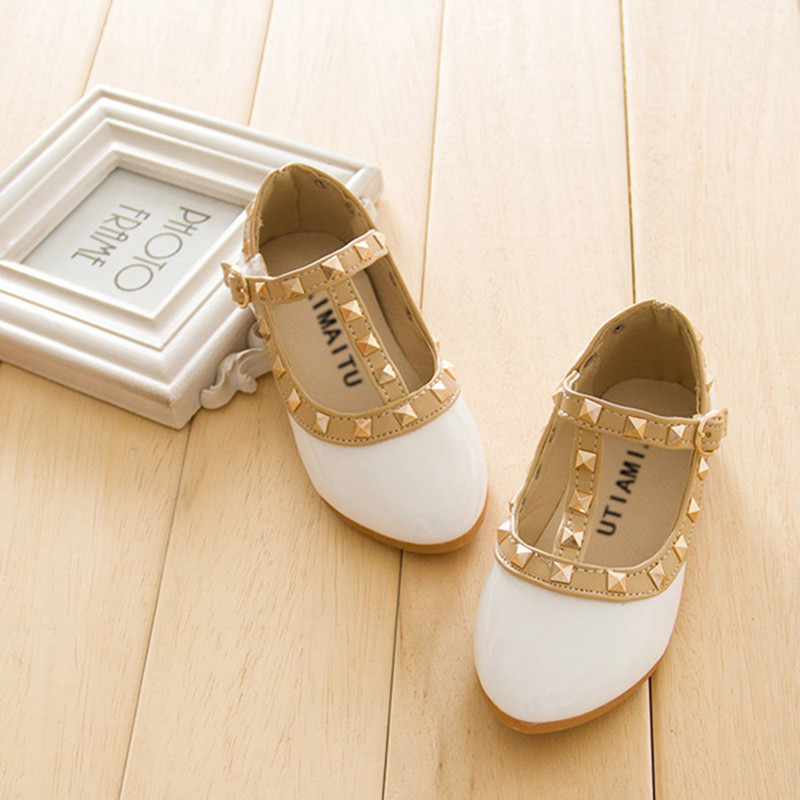 Children casual Shoes Patent Leather