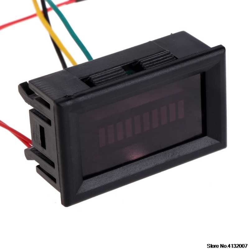 Tingkat Bahan Bakar Gauge Indikator 12 V Motor Universal Oli Mobil Skala Meter LED Minyak 828 Promosi