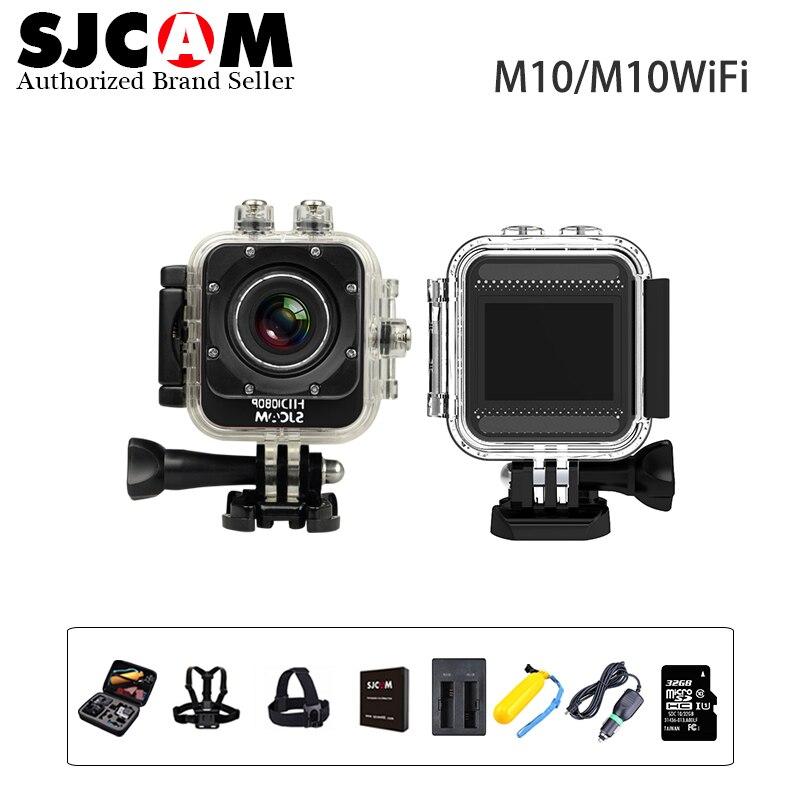 Original sjcam m10 y m0 wifi 1080 p full hd mini acción cámara 30 M Impermeable