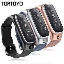 Новый M6 Мода Bluetooth умный Браслет Спорт SmartBand кожаный браслет Sleep Monitor напоминание наушники для IOS Android