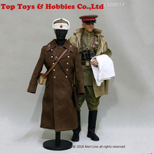 Alert Line 1/6 WW2 1944 Red Army Infantry Senior Lieutenant Officer Set AL100024 for man body cloghing set and acc 1 35 ww2 us infantry set