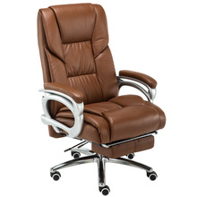 Household Simple Style Computer Chair with Footrest Recliners Siesta Office Chair Multifunction Boss Chair Lifted Swivel Chair