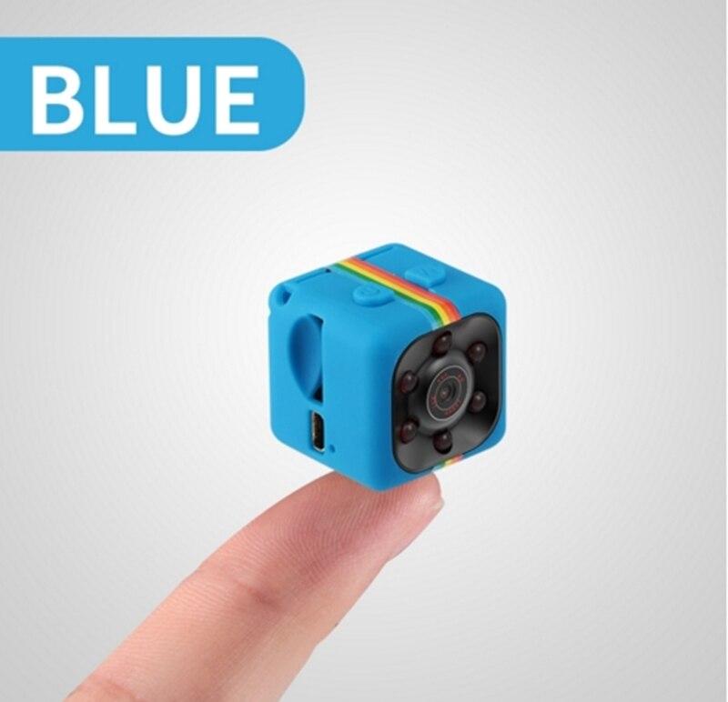Mini caméra de voyage HD 1080p Bleu