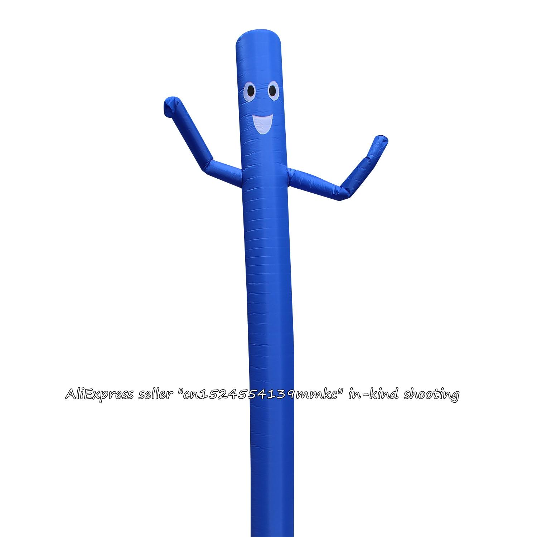 20ft/6 m 클래식 에어 댄서 스카이 댄서 풍선 튜브 만화 에어 인형 문 춤 남자 거대한 풍선 (파란색)-에서공기주입 바운서부터 완구 & 취미 의  그룹 1