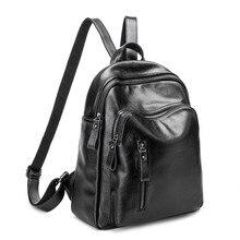 2017 горячий новый повседневная женщины рюкзак женские кожаные женские рюкзаки черный bagpack сумки девушки школьный сумка back pack
