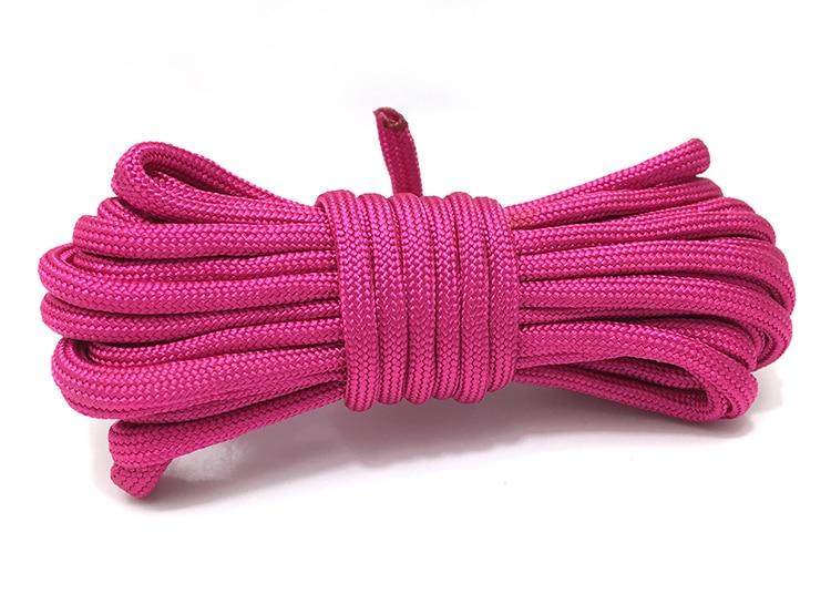 [300 meters/partij] kleuren paracord nylon 4mm Parachute Survival Touw DIY handen armbanden Accessoires