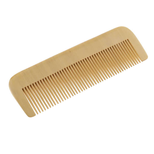 Natural Boxwood Comb No Static Wooden Hair Detangling Head Massage Comb Beard Hairbrush Hair Care Styling Tools 2
