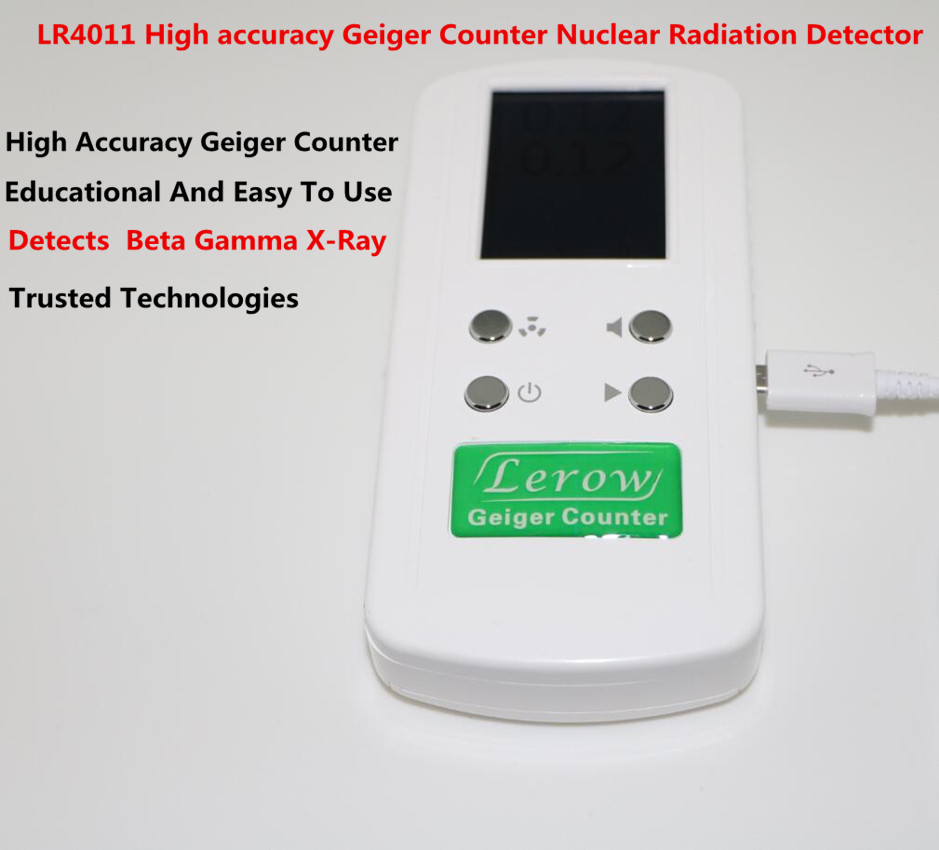 лучшая цена High accuracy Geiger counter Nuclear Radiation Detector Personal Dosimeters Detects Beta Gamma X-Ray
