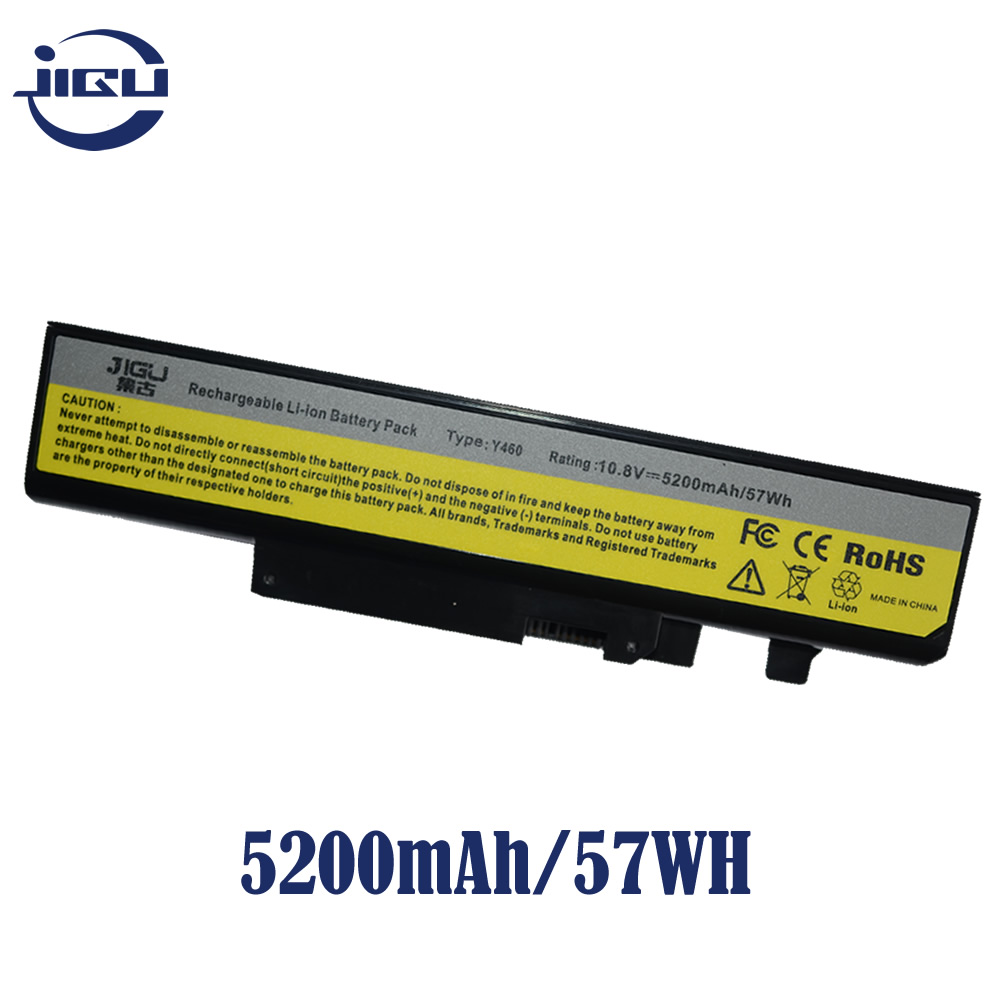 JIGU ноутбука Батарея 57Y6440 57Y6567 57Y6568 L09S6D16 L10L6Y01 L10N6Y01 L10S6Y01 для lenovo для Ideapad B560 V560 Y460