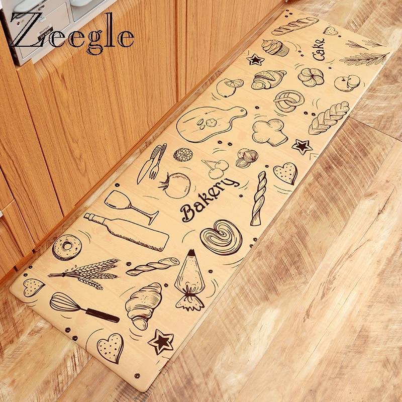 Zeegle tapis de cuisine PVC tapis de sol extérieur paillasson cuisine tapis antidérapant tapis de Table tapis de cuisine tapis de salon tapis