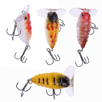 4cm Lifelike Fishing Lures Artificial Crank Bait Swim Wobblers Bait With Hooks Fishing Tackle Accessories Pesca Mixed Color 2017
