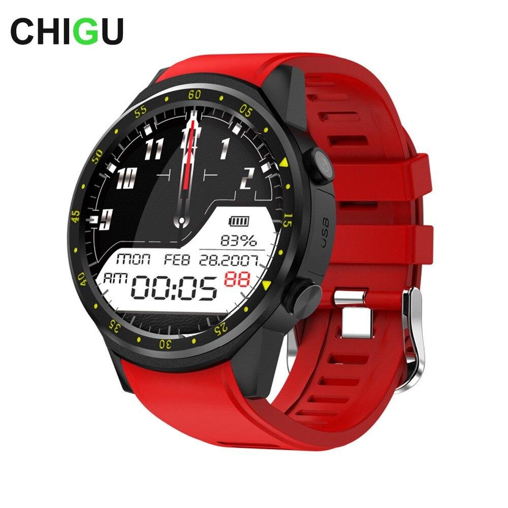 Чигу F1 Спорт Смарт часы с gps Камера Поддержка секундомер Bluetooth Smartwatch sim-карты наручные часы для Android IOS Телефон