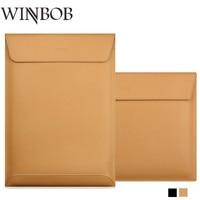 Genuine Leather Laptop Bag 13 Sleeve Case For MacBook Air 11 12 13 15 Retina 13
