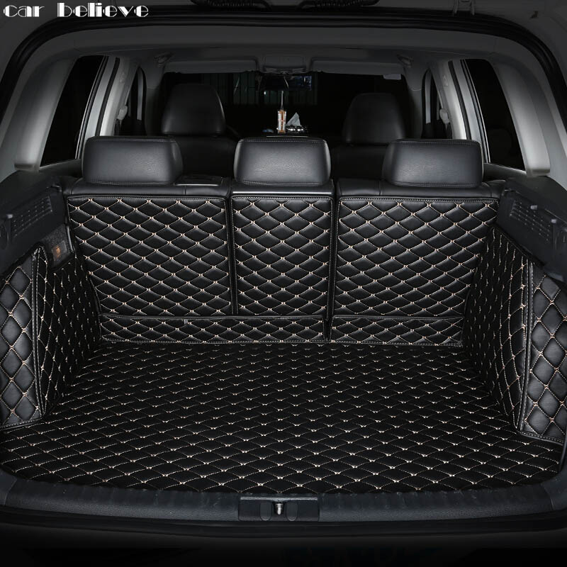 Car Believe Custom car trunk mat For kia sorento 2017 2015 Sportage 3 2018 soul K3 Cargo Liner Interior Accessories car styling super bright car styling 9pcs car led kit interior glove box light for 2014 2015 kia sorento trunk dome map license plate lights