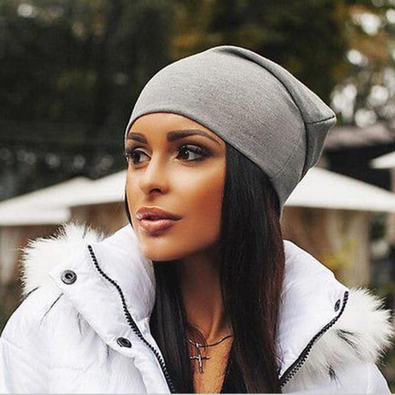 Beanie Hat Bonnet-Hats Turban Letter Hip-Hop Thin Women Skully-Hat Female Cap Toucas