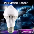 1pcs PIR Motion Sensor Lamp 5w Led E27 Bulb 7w 9w Auto Smart Led PIR Infrared Body Lamp With The Motion Sensor Lights