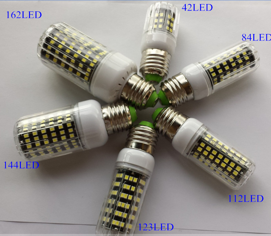 E27 2835 lampada led lamp 220v aluminum pcb bombillas led for Lampade led 220v